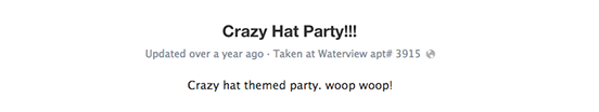 crazy hat party